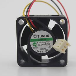 sunon dc fan 2019 - SUNON KDE1204PKV1 4020 4cm DC 12V 0.8W Ultra-quiet Switch Cooling Fan cheap sunon dc fan