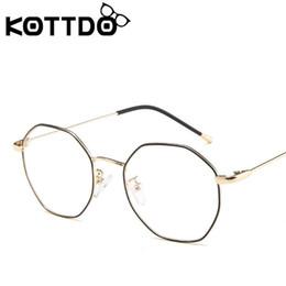 9d5ed60d69 Metal round frame for men women brand designer vintage eyeglasses frames  optical retro eye glasses frame oculos de grau feminino