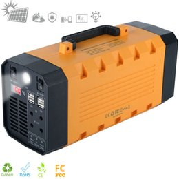 battery solar 12v Australia - 500W portable ups power battery AC 110V-220V DC 12V 26Ah portable power supply for outdoor and home appliance Portable Solar Power Station