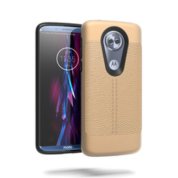 armadura de cuero al por mayor-Litchi Leather Grain a prueba de golpes Armor Case para Alcatel REVVL A30 Fierce A30 Plus Walters Moto G6 Juega G6 Forge E5 Plus E5 Juega E5 Supra