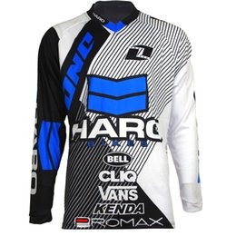 89f9331d6 Hot sell NEW for HARO motorcycle Jersey moto gp motocross MTB DH MX Jersey  Bicycle Cycling Bike downhill Fast Dry Smooth