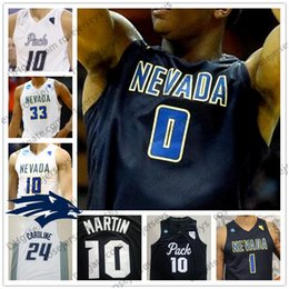 $enCountryForm.capitalKeyWord NZ - NCAA Nevada Wolf Pack #0 TreShawn Thurman 12 JoJo Anderson 21 Brown white black Stitched 2018 College Basketball Jerseys S-4XL