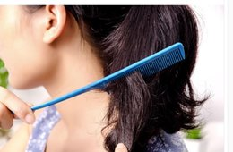 Paddle Picks online shopping - Makeup pointed tail comb hair straight hair Shun plate plastic anti static pick comb