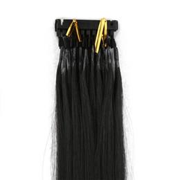 Оптовые цены Расширения волос 6D Естественный цвет 18inch до 28inch Расширения человеческих волос можно покрасить
