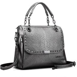 Luxury handbags women bags designer OL Lady crossbody-bag famous brands  Crocodile Pattern Handbag Tote feminine Shoulder bag 32890c21014a8