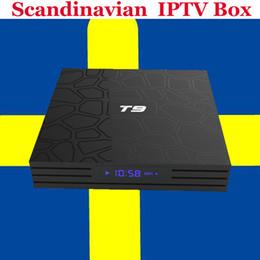 China Europe IPTV Albanian TV Box Android 8.1 T9 IUDTV EUSTV Code Arabic French Italy Swiss Best Scandinavian Spain Sweden Greece IPTV Box suppliers