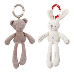 $enCountryForm.capitalKeyWord NZ - Infant Baby Rattle Cute Rabbit Stroller Wind Chimes Hanging Bell Musical Mobile Baby Toy Doll Soft Bear Bed Appease Rattles Toys