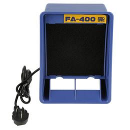 1pc Solder Smoke Absorber Remover Fume Extractor de aire del ventilador para soldadura AU Plug 220V en venta