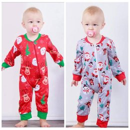 66686437d1d Christmas Baby Romper Deer Snowmen Print Jumpsuits Xmas Infant Long Sleeve  Rompers Newborn Baby Girl Clothes 3-18 Month MMA788