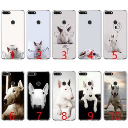 Discount fit bull - Bull Terrier bullterrier dog Soft Silicone Phone Case for Huawei P8 P9 Lite 2015 2016 2017 P10 20 Lite P Smart