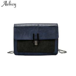 Wholesaler Designer Handbags Australia - Aelicy Luxury Handbags Women Bags  Designer PU Leather Fashion Chain Messenger 613a905ff9136