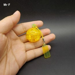 Football Games For Kids Australia - Finished Classic Crystal Puzzle Football Mini 3D Model Practical Gift For Kid Cute Toys Creative Game