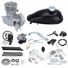 Motocicleta bicicleta 50cc 2 tempos Gasolina Gas Motor Motor Kit DIY Ebike Will se encaixa 26