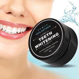 Dent de blanchiment des dents Nature Bambou Activé Charbon De Bois Sourire Poudre Décontamination Dent Jaune Teinture Bambou Dentifrice Soins Oraux 3006006