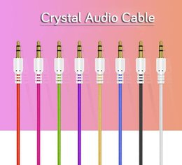 $enCountryForm.capitalKeyWord NZ - 1M 3FT 3.5mm Car Audio round Cable Colorful transparent Aux Cable for Mobile Phone Speaker MP3
