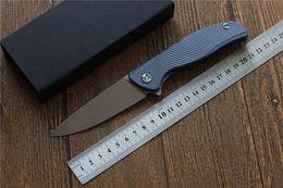 $enCountryForm.capitalKeyWord Australia - MIKER Icebreaker F95 Flipper folding knife hunting D2 blade Titanium camping hunting pocket knife Tactical army utilit EDC tools