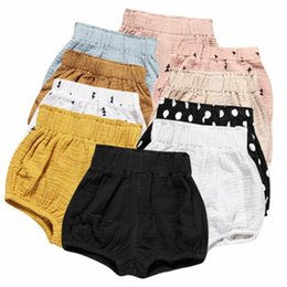 newborn girl clothes boutique 2019 - Ins Baby Shorts Toddler PP Pants Boys Casual Triangle Pants Girls Summer Bloomers Newborn Briefs Diaper Boutique Underpa