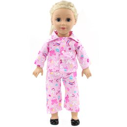 de4d03bea58a American Girl Dolls Pajamas Doll accessories Princess Doll Clothes Fit 18  inches Clothes Baby Birthday Christmas Gift MG-023