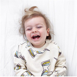$enCountryForm.capitalKeyWord Canada - Girl Boy Unicorn Printed Hoodies without Hat Baby Unicorn Long Sleeve T-shirt Children Spring Autumn Hoodies Kids Clothes XAM 001