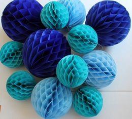 $enCountryForm.capitalKeyWord NZ - 20 cm Colorful Decorative Tissue Paper Honeycomb Balls Flower Pastel Holiday Wedding Birthday Event & Party Decoration Supplies