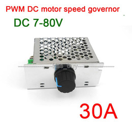 speed governor controller Australia - Freeshipping 7-80V 30A DC MOTOR SPEED governor CONTROL PWM HHO RC CONTROLLER 24V 12V 48v 72V cooling fan  dimmer heater thermostat