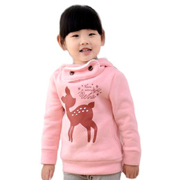 $enCountryForm.capitalKeyWord Canada - plus velvet winter children outerwear cartoon deer baby girls infant overcoat thicken kids clothes jacket for girls free shipping
