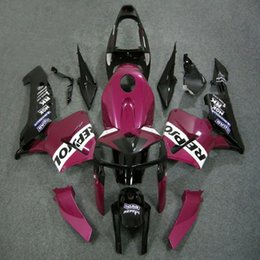 Pink Honda Repsol Cbr NZ - 23colors+5Gifts Injection mold pink repsol ABS Fairing For Honda CBR600RR 2005 2006 CBR 600RR 05 06 CBR 600 RR ABS plastic kit