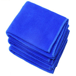 Car sCrub online shopping - 30 CM Car Cleaning Towels Fibre Towel Super Absorbent Superfine Clean Towels Car Scrubbing Cosmetology And Cleanliness