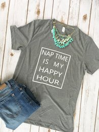 $enCountryForm.capitalKeyWord Canada - nap time is my happy hour t-shirt hipster mom gift tee stylish popular short sleeve cotton top black trendy outfits slogan shirt