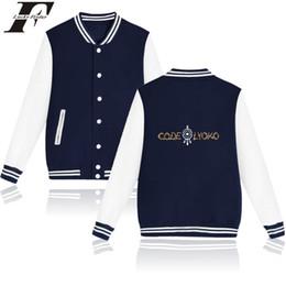 Tracksuits Jacket Canada - 2017 hit hop Code Lyoko Cartoon Baseball jacket tracksuit bomber jacket men women basic coats Buons tumblr Sweatshirt 4xl