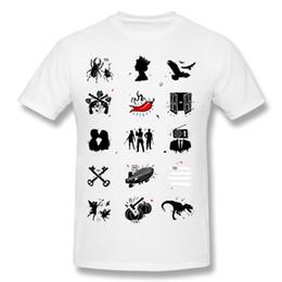 Wholesale rock n roll t shirts for sale – custom Drop Shipping Hombre Cotton Rock n Roll Pictionary T Shirt Hombre O Neck Black Short Sleeve T Shirt S XL Funny T Shirt