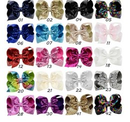 9a81cf4ecdf0 kids Girls Bling Hair Clip Sequined Bow Knot Shiny Bow Hairpin Girls Hair  Accessories Childrens Hairpins Bow Hair clips KKA4516