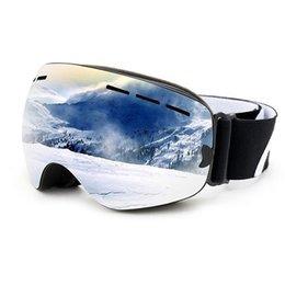 7319f44e61e1b New Professional Adult Ski Goggles Anti-fog Lens Double Decker Snowboard  Skiing Glasses dolphin Windproof Mountaineering Eyewear