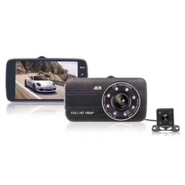 $enCountryForm.capitalKeyWord NZ - T675 Dash camera1080P Car 4-inch 170-degree Recorder 8 LED Driving Recorder 2 Lens Tracking Camera Night Vision Camera car dvr