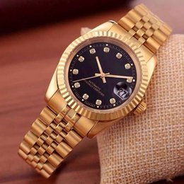$enCountryForm.capitalKeyWord Australia - Mechanical Automatic--New men calendar black bay designer diamond watches wholesale high quality women dress rose gold clock reloj mujer