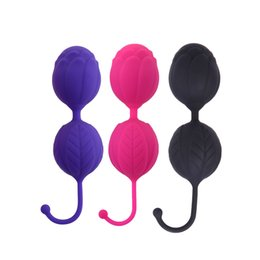 Discount make sex toys for women - Silicone Vagina Ball for Women Vagina Tigthen Exercise Device Kegel Balls to Make Female Vaginal Muscle Tight Massager S
