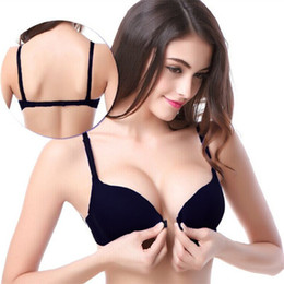 9face2365bc Fashion Bra Spring And Summer Seamless Sexy Front Button Bra Push Up  Underwear Buckle Female Small Chest Bra