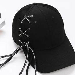 43eb3542ec41e5 Korean Girls Baseball Caps Canada - Personalized shoes, rope, hat, summer  girl,