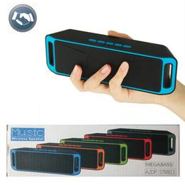$enCountryForm.capitalKeyWord Australia - Portable Wireless Bluetooth Speaker SC 208 Bluetooth 4.0 TF USB FM Radio Dual Bluetooth Speaker Bass Sound Subwoofer Speakers