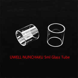 Buy cheap online shopping - UWELL NUNCHAKU ml Tank Replacement Glass Tube With DHL buy cheap UWELL NUNCHAKU ml Tank Fatboy Bulb Glass tube