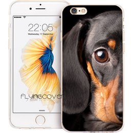 $enCountryForm.capitalKeyWord NZ - Dachshund Dog Puppy Clear Soft TPU Silicone Phone Cover for iPhone X 7 8 Plus 5S 5 SE 6 6S Plus 5C 4S 4 iPod Touch 6 5 Cases.