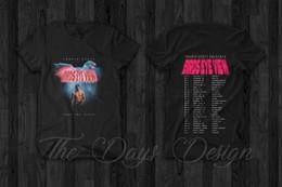 Vintage pens online shopping - Travis Scott Vintage Merch Astroworld BIRDS EYE VIEW T shirt Rodeo Pen Pixel Funny Tee Shirts Hipster O Neck Cool Tops