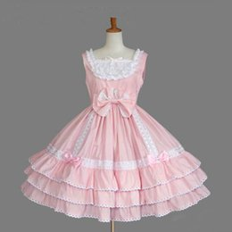 lolita dresses for cosplay NZ - Women Classical Lolita Dress Royal Ladies Layered Cosplay Costume Cotton Lovely Dress for Girl Plus Size XL 2XL 3XL Customized