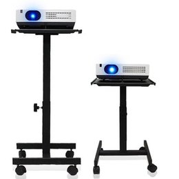 Projectors stands online shopping - Projector Speaker Stand Trolley With Tray And Degree Universal Wheel TC90
