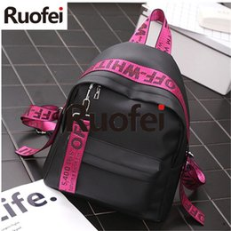 52692d4374 2017 Women Backpacks nylon Backpack Female Trendy backpack Designer School  Bags Teenagers Girls Travel Mochilas Y1890302