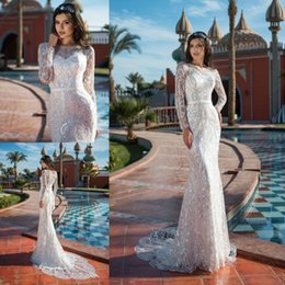 $enCountryForm.capitalKeyWord UK - Bling Mermaid Wedding Dresses Full Sequins Lace Sash Luxury Sweep Train Plus Size Bridal Gowns Beach Robe De Mariée