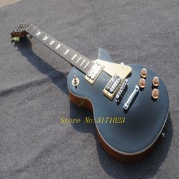 pictures personal Australia - guitars electric The new free shipping Personal Tailor gray orange back Electric guitar Rosewood Fingerboard Can send pictures customization