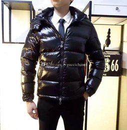 c079170d9ea9 Men Women Classic brand Casual Down Jacket Shiny matte Down Coats Mens  Outdoor Fur Collar Warm Feather dress Unisex Winter warm Coat outwear