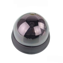 Wholesale Dummy Fake Simulation Dome Security CCTV Camera Hemispherical Led Analog Camera Monitor With False IR LED Red Activity LED Light M