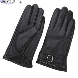 $enCountryForm.capitalKeyWord Australia - Men's leather gloves, winter cold - proof warm, business casual, touch - screen sheepskin gloves, high quality, free freight
